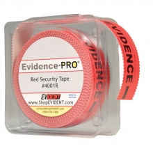 Evidence-PRO Red Security Tape