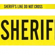 Sheriff's Line Barrier Tape