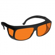 Deluxe Fit-Over Forensic Goggle - Orange