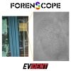 Latent Fingerprint on Glass with the ForenScope Contactless Fingerprint System